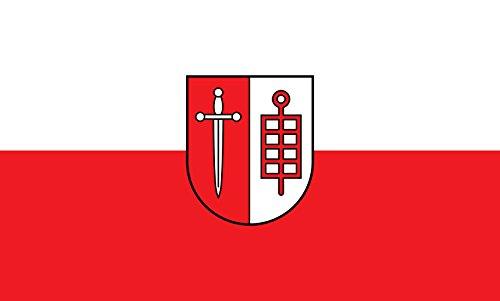 Unbekannt magFlags Tisch-Fahne/Tisch-Flagge: Leingarten 15x25cm inkl. Tisch-Ständer