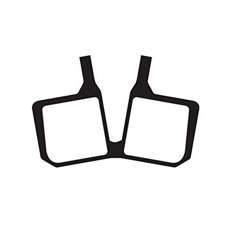 ASHIMA Plaquettes Semi-metalliche pour magura MT5 (Pastilles Cycle)