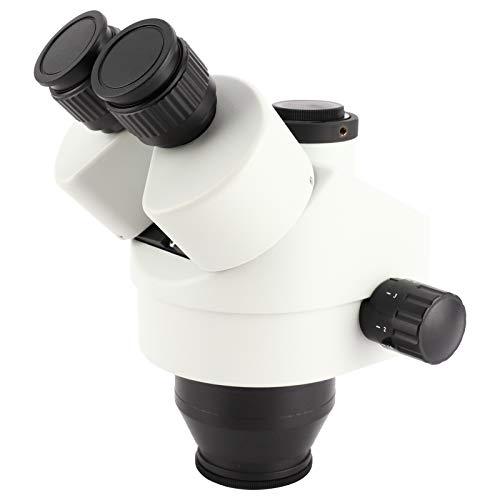 Trinokularlinse, hochauflösendes Mikroskopokular, Stereo für Stereomikroskoplabor(With 0.5X objective lens)