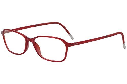 Eyeglasses Silhouette SPX Illusion Full Rim 1583 3010 cherry red 50/14/130 3 pie