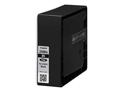 Canon PGI-2500 XL BK Druckertinte - Schwarz mit hoher Reichweite; 70,9 ml für MAXIFY Tintenstrahldrucker ORIGINAL, 3-er Pack