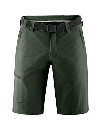 Maier Sports Huang Bermuda d'extérieur pour Homme Vert Taille 25