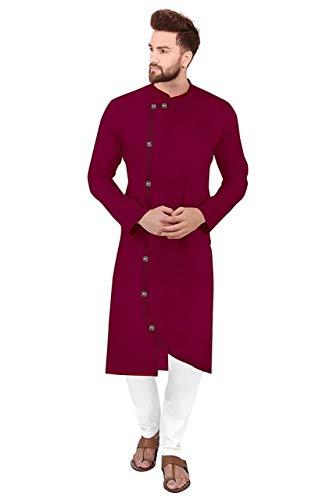 Trustous Cross Kurta Pyjama Combo Set for Men's (Fancy Cross Partten)