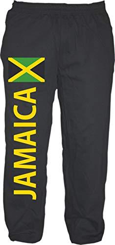 HB_Druck Jamaica Jogginghose - Sweatpants - Jogger - Hose M Schwarz