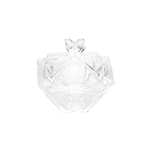 Bomboniere de Cristal Metropolitan Lyor Transparente 11 x 11 x 11.5 cm