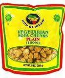 2 x Lion of Judah Vegetarian Soya Chunks Plain 8oz