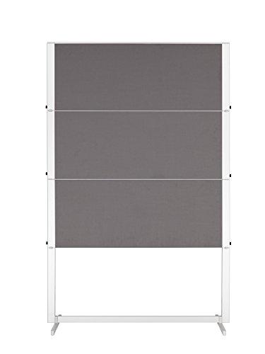Legamaster 7-103500 Moderationswand Professional Travel, 150 x 120 cm, grau