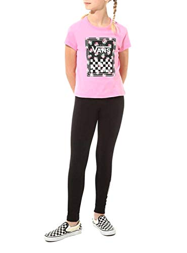 Vans Boxed Rose T-Shirt, Rosa (Fuchsia Pink Unu), Medium Bambina