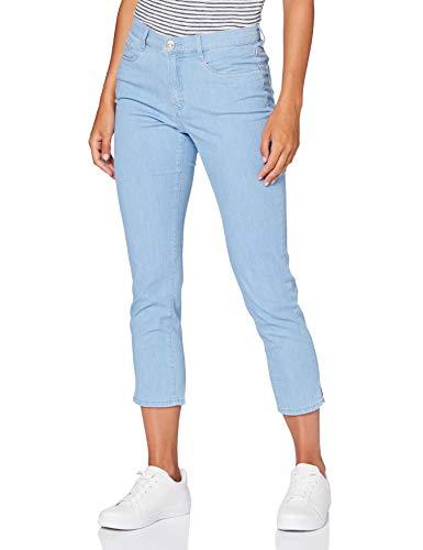 BRAX Mary S Ultralight Denim Jeans Straight, Blu (Clean Light Blue 29), W34/L32 (Taglia Unica: 44) Donna