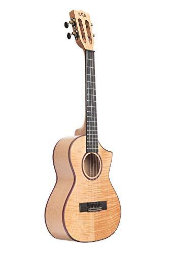 Kala KA-ASFM-T-C Tenor Ukulele - Solid Flame Maple