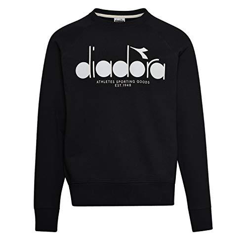 Diadora - Felpa Sweatshirt Crew 5PALLE per Uomo IT XXXL