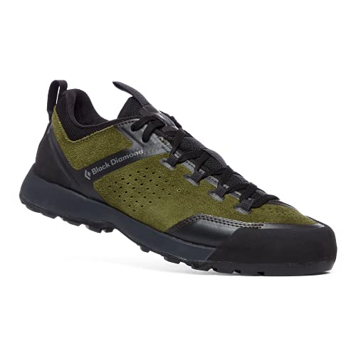 Black Diamond Equipment - Men's Mission XP Leather Approach Shoes - Olive - Size 9.5