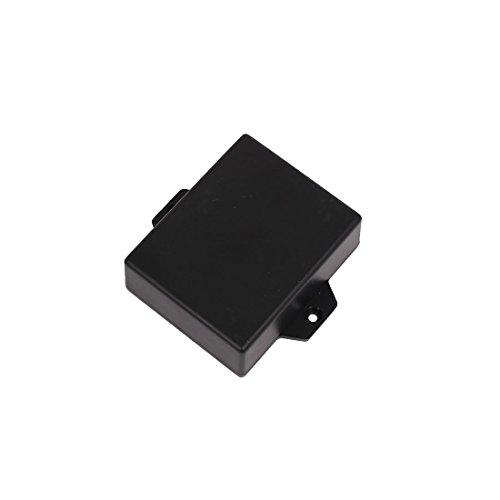 Aexit 63mmx50mmx22mm Lautsprecherteile & -komponenten Kunststoff elektronische rojekt Gehäuse Anschlussstecker Anschlussdose Schwarz