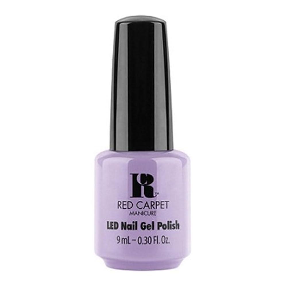 文明化する引き算に慣れRed Carpet Manicure - LED Nail Gel Polish - PR Darling - 0.3oz / 9ml