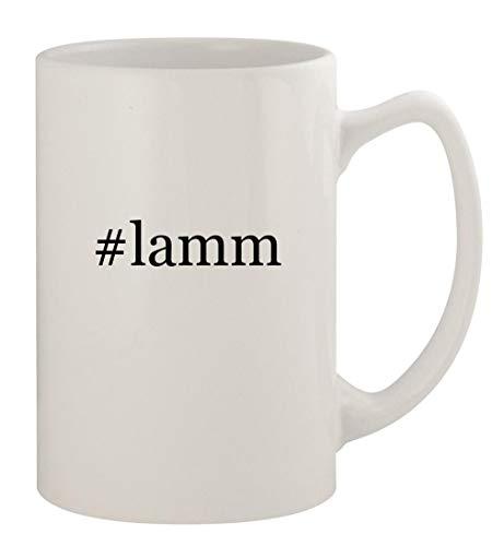 #lamm - 14oz Ceramic White Statesman Coffee Mug, White