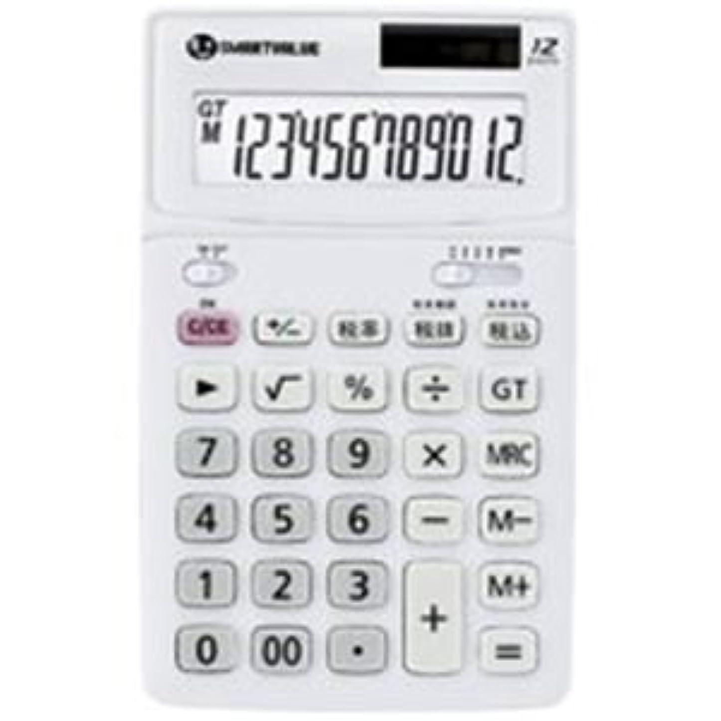 プレミア素晴らしいです成長ジョインテックス K071J-5 ホワイト5台 中型電卓