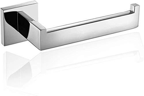 Porta Rotolo Carta Porta Carta Igienica Acciaio Inox 304 Bagno Parete WC al Muro a Specchio con Finitura Cromata