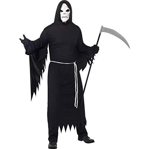 Desconocido Disfraz de segador para adulto ideal para Halloween