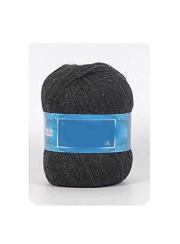 1Pc=50g Mongoolse kasjmier hand gebreide kasjmier garen wol kasjmier breien garen bal sjaal wol garnaal baby 006 diamant blauw