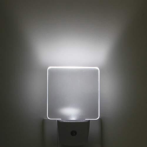 Greenic 2 Pezzi LED Luce Notturna da Presa con Sensore Crepuscolare Automatico Luce Notte Bambini 0.5 W Risparmio...