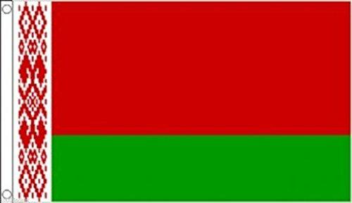 1000 vlaggen Wit-Rusland Vlag 5'x3' (150cm x 90cm) - Geweven Polyester