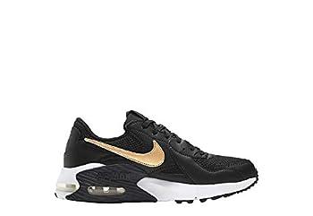 Nike Women s Air Max Excee Sneaker,Black/Gold,8