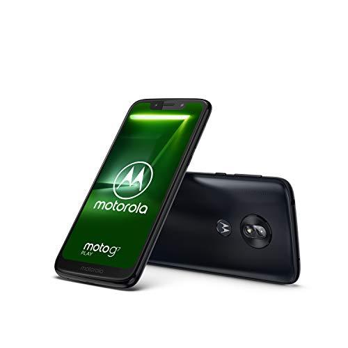 Motorola Moto g7 Play 5.7 Inch Android 9.0 Pie UK Sim-Free Smartphone with 2 GB RAM and 32 GB Storage (Single Sim), Indigo