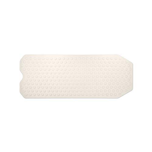 WohnDirect Badewannenmatte weiß • sehr rutschfest & sehr stabil • Anti-Rutscheinlage Badewanne rechteckig 40 x 104 cm
