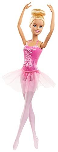 Barbie- Ballerina Bambola Bionda con tutù Giocattolo per Bambini 3+ Anni, GJL59