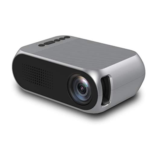 Mini Projector, Draagbare 1080P HD Video Projector Met Infrarood Afstandsbediening, USB HDMI TV Home Theatre-Systeem, Pocket Movie Projector Voor Home Media Player