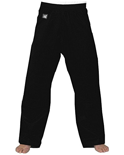 KWON Baumwollhose 12 oz schwarz 190