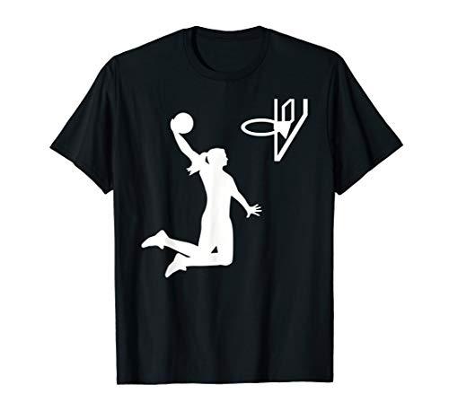 Basketball Mädchen T-Shirt