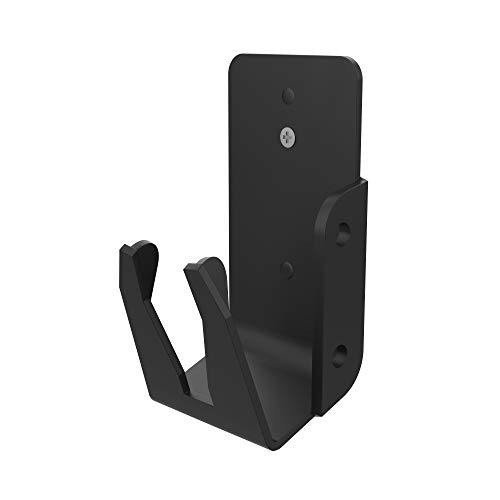 Barcode Scanner Mount - CTA Magnetic Grip Barcode Scanner Holster Mount with Steel Sheet And 3M Tape Sticker (ADD-MGBSM) - Black