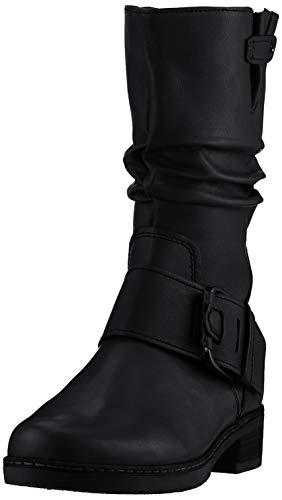 Gabor Shoes Damen Comfort Sport Hohe Stiefel, Schwarz (Schwarz (Micro) 87), 38.5 EU