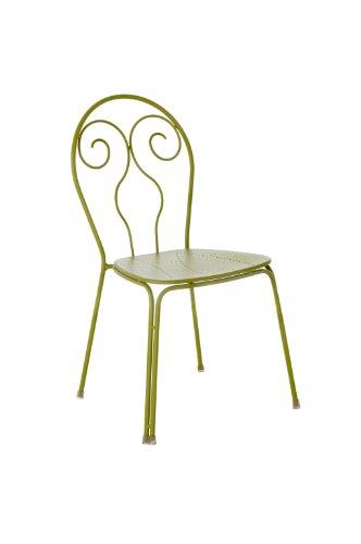 Emu Caprera 930 309306000 Chairs Powder-Coated Steel Set of 4 Green