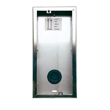 BPT HBP/M - Caja de pared con placa