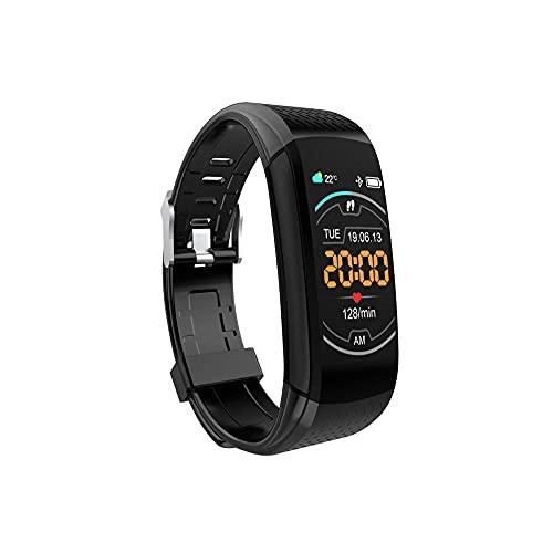 Pulsera Inteligente, Frecuencia CardíAca PresióN Arterial Monitor SueñO Monitor Actividad Reloj Impermeable IP67 Contador de Pasos Monitor CaloríAs Adecuado para Compatibles Masculinos Y Femeninos