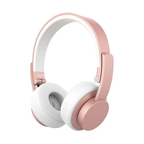 Auriculares con Bluetooth Urbanista Seattle [Calidad DE Sonido URBANISTA], hasta 12 Horas de Tiempo de reproducción, Gestión de Llamadas con micrófono - Rose Gold