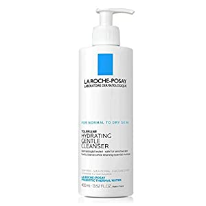 La Roche-Posay Toleriane Hydrating Gentle Cleanser, Face Wash for Normal to Dry Sensitive Skin,...