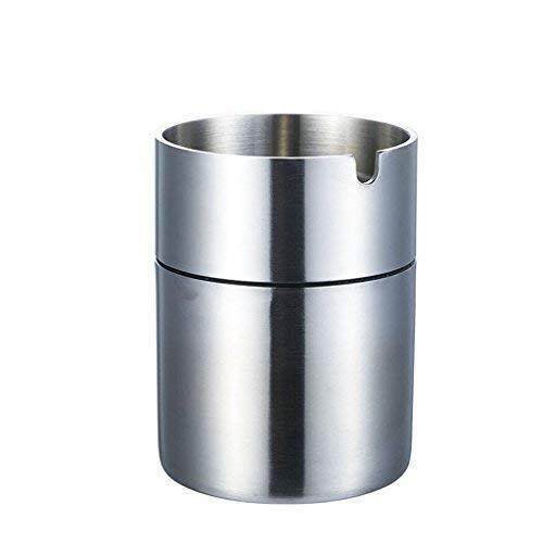 OutingstaRase Posacenere in acciaio inox 304 Alta Spesso antivento domestica Coppa del fumo