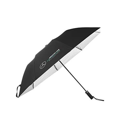 Mercedes-AMG Petronas - Mercancía Oficial de Fórmula 1 2021 Colección - Hombre - Compact Umbrella - Compact - Negro - One Size