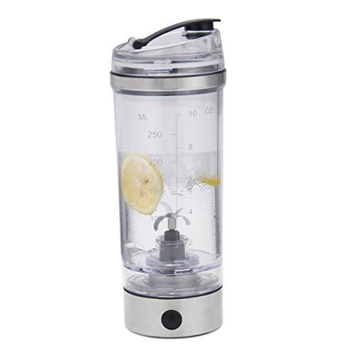 Riiai Frullatore Portatile 250ML Elettrico Proteina Shaker Bottiglia USB Ricarica Elettrica Miscelazione Cup per Proteine Polvere, Frullati, Caffè, Cocktail