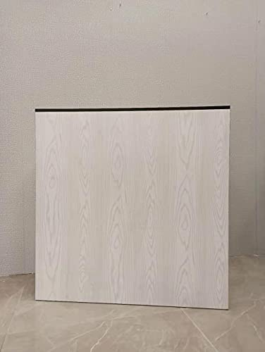 Mesa de Oficina Mostradores para Tiendas o Recepción Mueble Madera Blanco