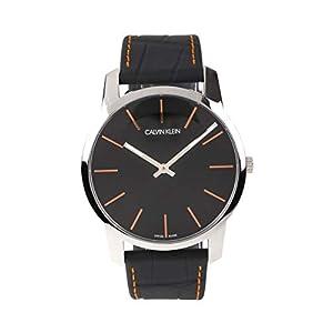 [カルバンクライン]ck Calvin Klein 腕時計 革ベルト スイス製 シティ 43mm K2G211C1 メンズ [並行輸入品]