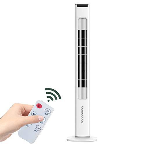 Coolseason Intelligenter Blattloser Lüfter/Flügelloser Lüfter, Elektrischer Desktop-Luftreiniger, Fernbedienungsturmventilator, Home Office