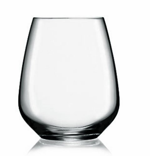 Luigi Bormioli Trinkgläser 670 ml PRESTIGE, hochwertiges Cabernet/Merlot Weinglas, bleifreies Kristallglas aus Italien (Farbe: Transparent), Menge: 1 x 4 Stück