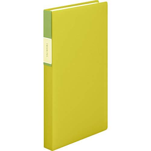 キングジム 名刺ファイル フェイバリッツ 120P 黄色 FV22Tキイ FV22Tキイ