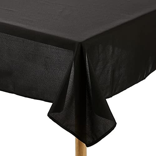Soleil d\'ocre Tischdecke mit Fleckschutz eckig 140x240 cm ALIX schwarz