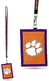 NCAA University Missouri Tigers Mizzou 1 inch Lanyard Key Strap Metal Ring