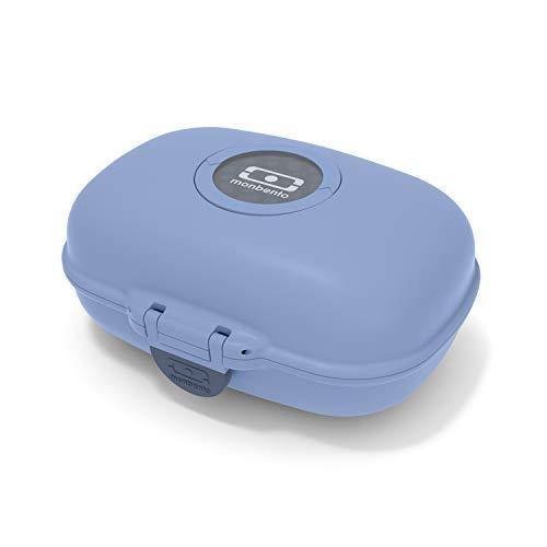 monbento - MB Gram blau Infinity Snackbox Kinder - Individuell Gestaltbar - BPA frei